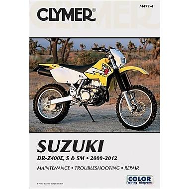 Clymer Suzuki DR-Z400E, S & SM 2000-2012