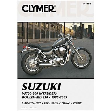 Clymer Suzuki VS700-800 Intruder/Boulevard S50 1985-2009