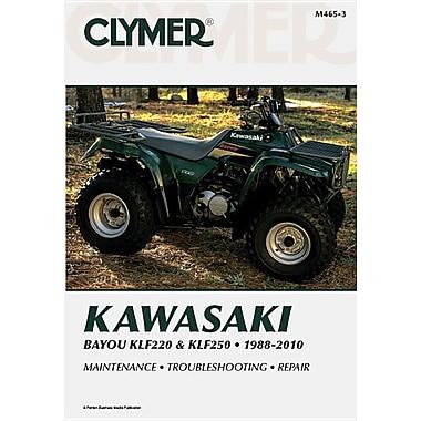 Clymer Kawasaki Bayou KLF220 & KLF250, 1988-2010