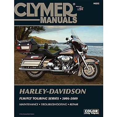 Harley-Davidson FLH/FLT Touring Series 2006-2009 [With CDROM]