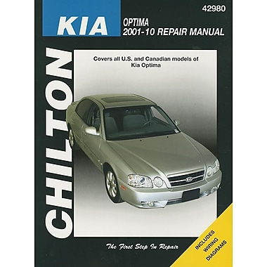Chilton's Kia Optima 2001-10 Repair Manual