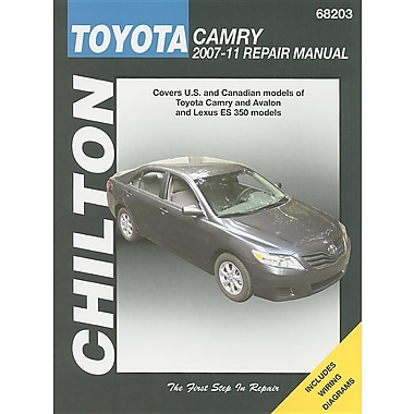 Toyota Camry 2007-11 Repair Manual