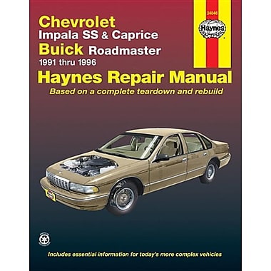 Chevrolet Impala SS and Caprice, Buick Roadmaster 1991-1996