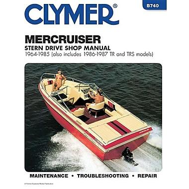 Merccruiser Stern Drv 64-1985