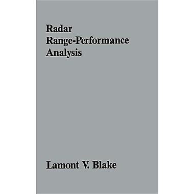Radar Range-Performance Analysis