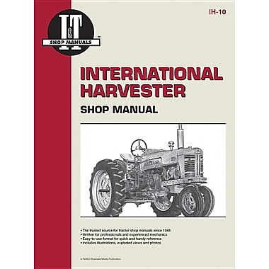 International Harvester Shop Manual Series 300 300 Utility - Ih - 10 (I & T Shop Service)