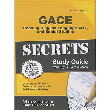 GACE Special Education: Reading, English Language Arts, and Social Studies Secrets Study Guide