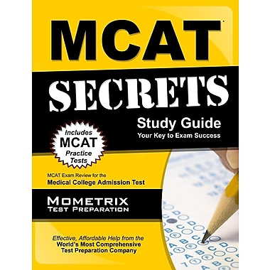 MCAT Secrets: MCAT Exam Review for the Medical College Admission Test