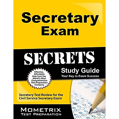 Secretary Exam Secrets Study Guide: Secretary Test Review for the Civil Service Secretary Exam