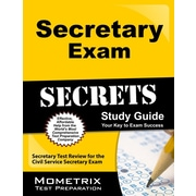Secretary Exam Secrets Study Guide: Secretary Test Review for the Civil Service Secretary Exam by