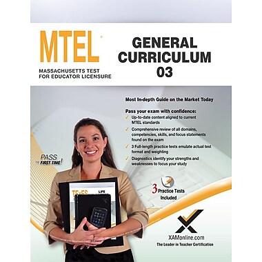 Mtel General Curriculum 03