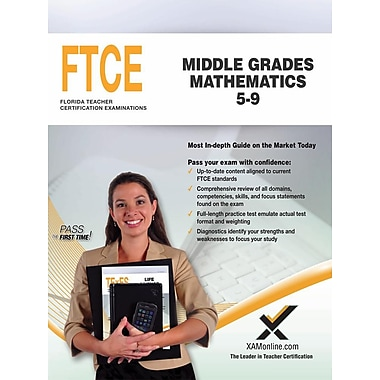 Ftce Middle Grades Mathematics 5-9