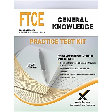 Ftce General Knowledge Practice Test Kit