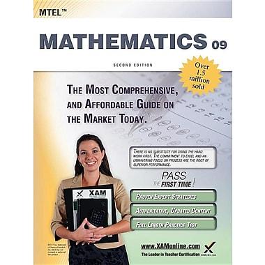 Mtel Mathematics 09 Teacher Certification Study Guide Test Prep