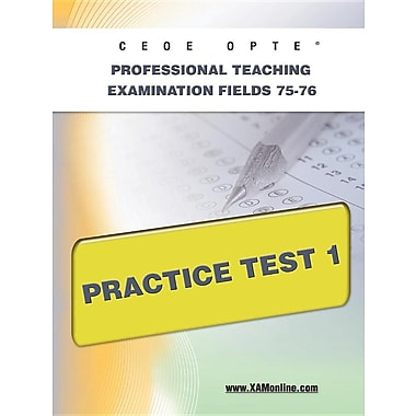 Ceoe Opte Oklahoma Professional Teaching Examination Fields 75-76 Practice Test 1