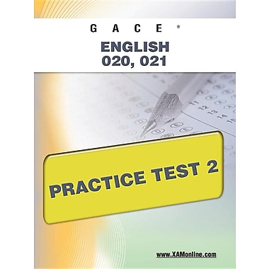 Gace English 020, 021 Practice Test 2