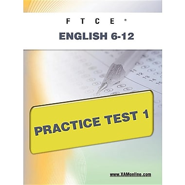 Ftce English 6-12 Practice Test 1