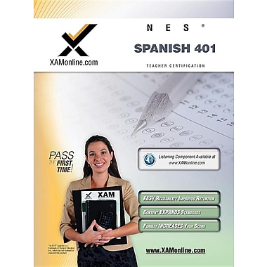 Nes Spanish 401 Teacher Certification Test Prep Study Guide