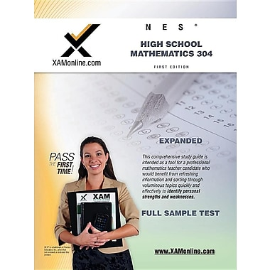 Nes Highschool Mathematics 304 Teacher Certification Test Prep Study Guide