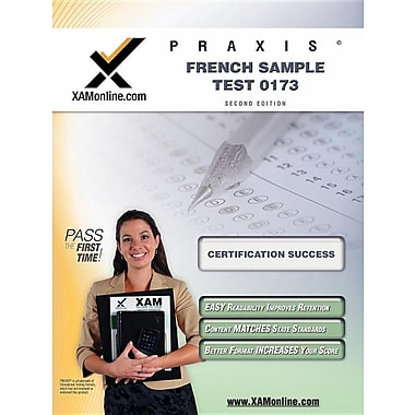 Praxis French Sample Test 0173 Teacher Certification Test Prep Study Guide
