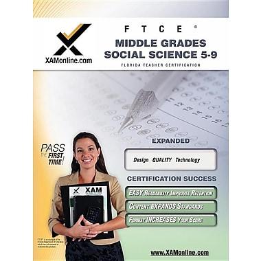 Ftce Middle Grades Social Science 5-9 Teacher Certification Test Prep Study Guide