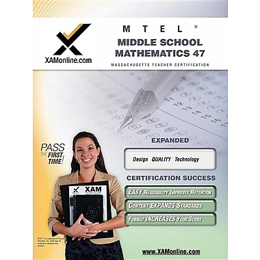 Mtel Middle School Mathematics 47 Teacher Certification Test Prep Study Guide
