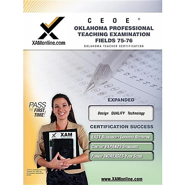 Ceoe Opte Oklahoma Professional Teaching Examination Fields 75, 76 Teacher Certification Test Prep Study Guide