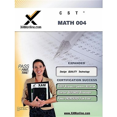 CST Math 004: teacher certification exam