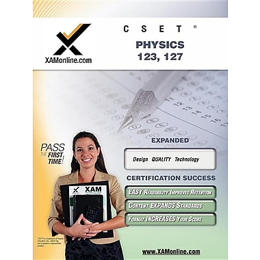 Cset Physics 123, 127 Teacher Certification Test Prep Study Guide