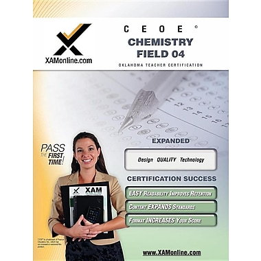 Ceoe Osat Chemistry Field 04 Teacher Certification Test Prep Study Guide