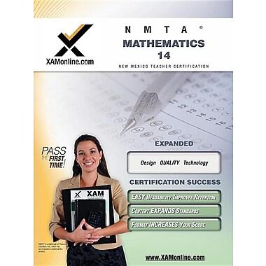 Nmta Mathematics 14 Teacher Certification Test Prep Study Guide