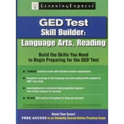 GED Test Skill Builder: Language Arts, Reading