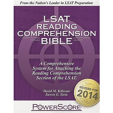 The Powerscore LSAT Reading Comprehension Bible