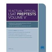 10 Actual, Official LSAT Preptests, Volume V