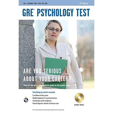 GRE Psychology Test, TestWare Edition [With CDROM]