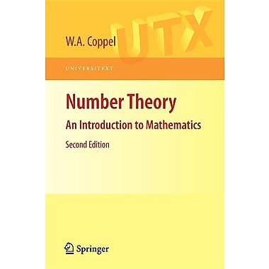 Number Theory: An Introduction to Mathematics