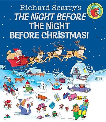 The Night Before the Night Before Christmas! (Richard Scarry) 1323986