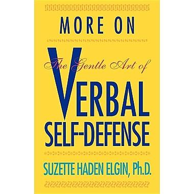 More Verbal Self-Defense