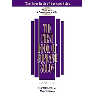 The First Book of Soprano Solos (Book/CD): (Includes 2 CDs) [With 2 CD's]