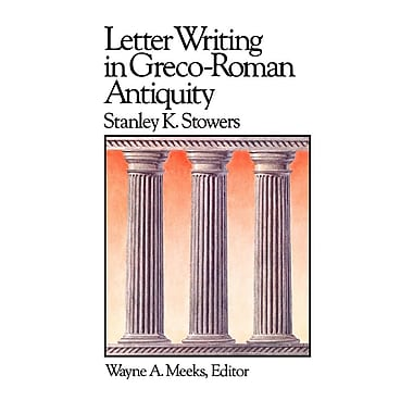 Letter Writing in Greco-Roman Antiquity (Lec)