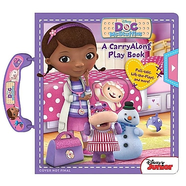 Disney Doc McStuffins Carryalong Play Book