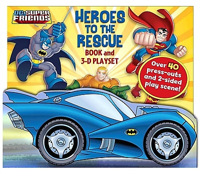 DC Super Friends Heroes to the Rescue: