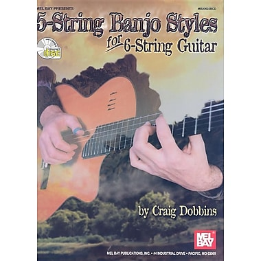 5-String Banjo Styles for 6-String Guitar [With CD]