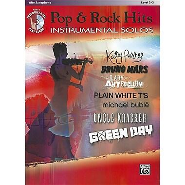Pop & Rock Hits Instrumental Solos, Alto Saxophone: Level 2-3