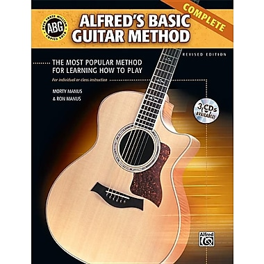 Alfred's Basic Guitar Method: Complete [With CD]