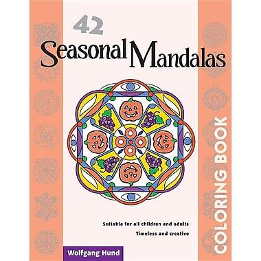 42 Seasonal Mandalas Adult Coloring Book