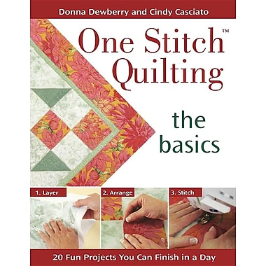 One Stitch Quilting: The Basics