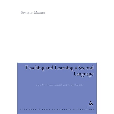 Teaching and Learning a Second Language: A Review of Recent Research