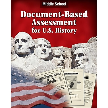 Document Based Assessment U.S. History: Middle School
