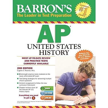 Barron's AP United States History , 2nd Edition [With CDROM]
